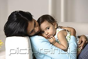 PictureIndia - woman cradling baby